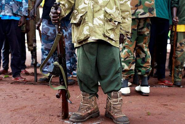 کودکان سرباز سودانجنوبی