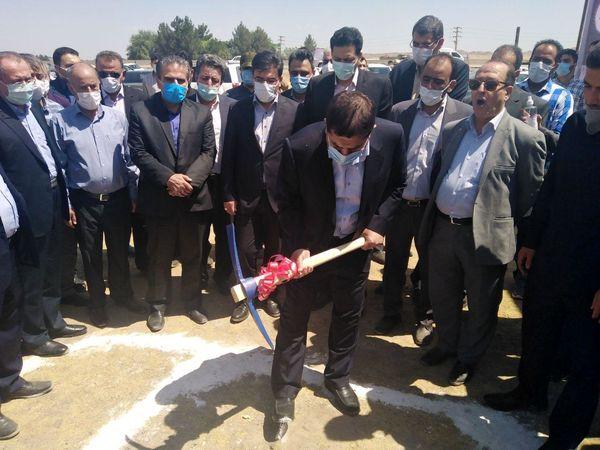 کارخانه لبنی تولید کره و شیرخشک در شهرستان ری کلنگ زنی شد