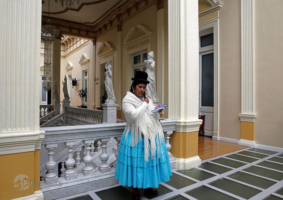 الیزابت مامانی، 36 ساله، گزارشگر رادیو، بولیوی