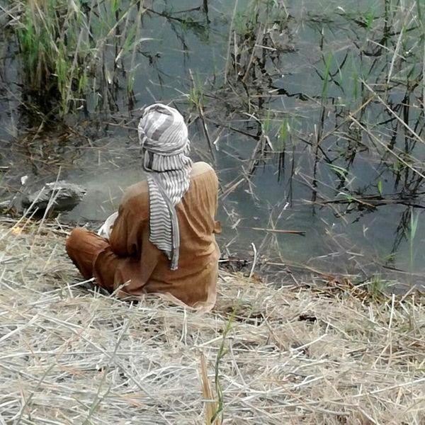آب کشاورزیام را قطع کردم که گاندوها زنده بمانند