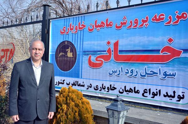 تولید 20 تن گوشت ماهیان خاویاری در استان آذربایجان شرقی