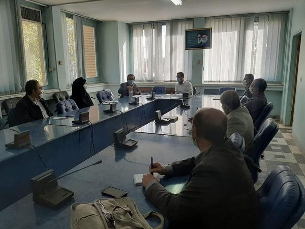 """برگزاری اولین جلسه هماهنگی """"طرح جهش تولید در دیمزارها"""" در شهرستان قزوین"""