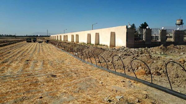 تجهیز 2550هکتار از اراضی شهرستان تهران به سامانههای نوین آبیاری