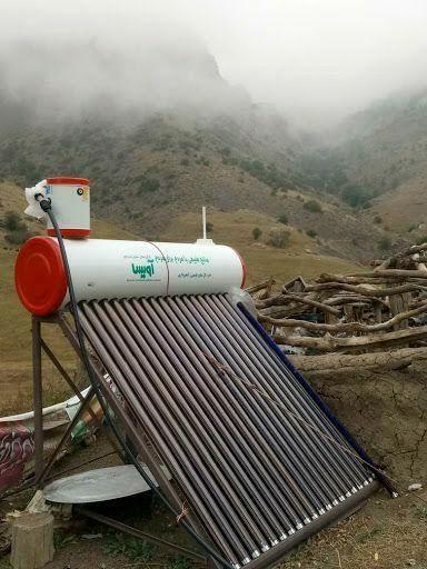 توزیع رایگان 25 دستگاه آبگرمکن خورشیدی وتنور گازی در ییلاقهای مهدیشهر