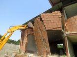 ساختوساز های غیر مجاز  در اراضی کشاورزی تخریب شدند