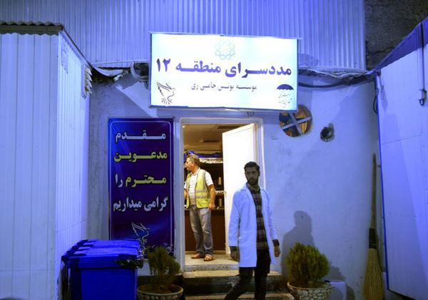 (تصاویر) سرکشی شبانه محمدعلی نجفی