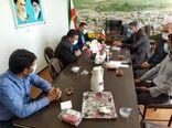 نشست هماهنگی اجرای طرح تامین آب اراضی کشاورزی شهر کاج