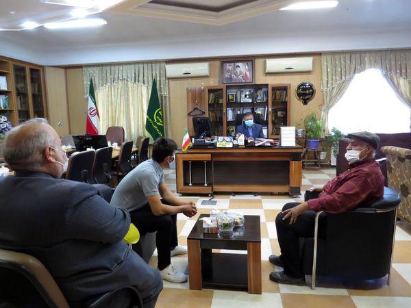 برگزاری ملاقات مردمی رئیس سازمان جهاد کشاورزی خراسان شمالی در  نخستین روز هفته جهاد کشاورزی