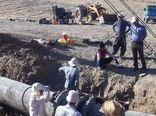 آغازعملیات اجرایی خط انتقال آب کشاورزی دشت ارمودرشهرستان دره شهر