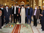 مدیران و کارکنان وزارت جهاد کشاورزی با آرمانهای شهدا تجدید میثاق کردند