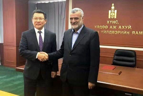 کارگروه مشترک همکاری های ایران و مغولستان تشکیل می شود