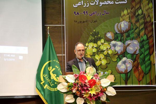 مصرف 2.4 میلیون تن کود کشاورزی در کشور