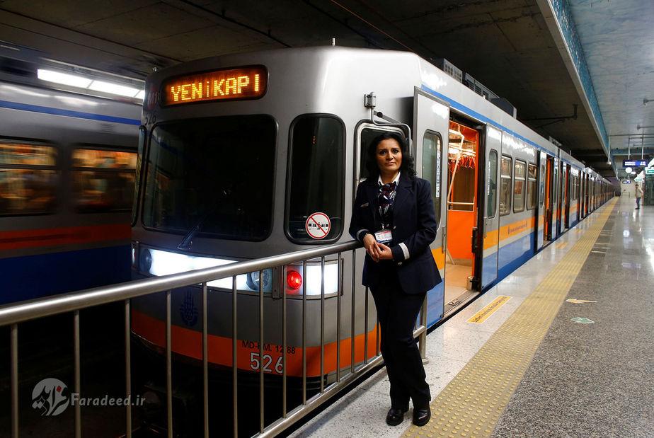سرپیل سیگدم، 44 ساله، راننده قطار، ترکیه