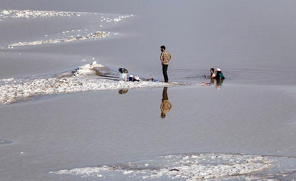 این روز های دریاچه ارومیه