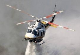 اعزام بالگردهای هوانیروز ارتش و سپاه برای اطفای حریق جنگل های استان بوشهر و خوزستان