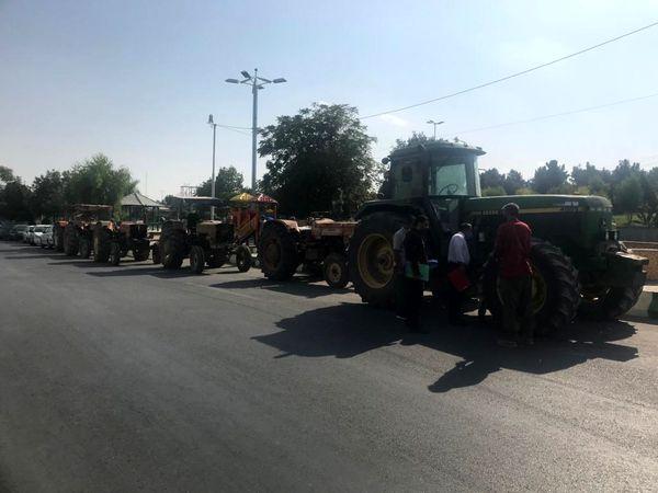 تمامی ماشین آلات کشاورزی در سطح شهرستان قرچک پلاک گذاری شدند