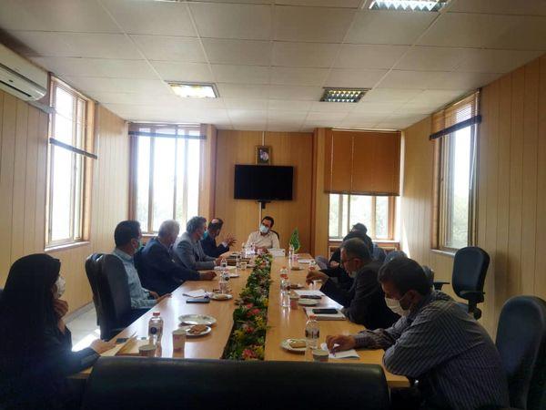 برگزاری نشست هماهنگی بیمه محصولات کشاورزی در بویین زهرا