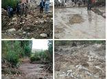 خسارت سیلاب به روستاهای هراران و هویج شهرستان بردسیر در تیرماه 1400