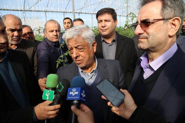 نقش موثر بهره برداری از شهرک گلخانه ای حصار گلی در افزایش تولید و اشتغال منطقه ورامین