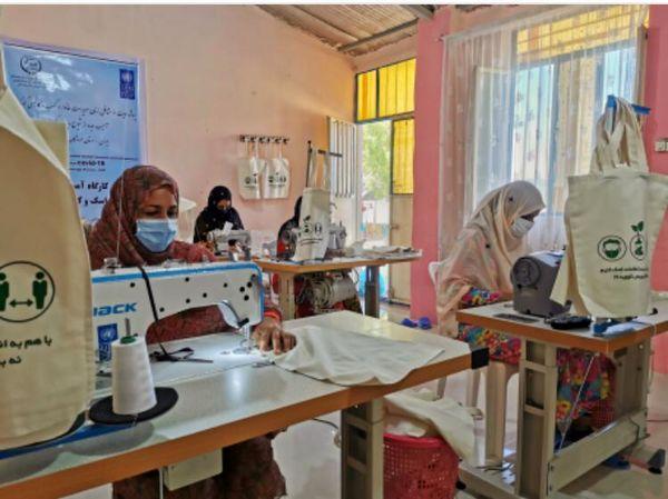 کسب و کارهای آسیب دیده کوچک زنان روستایی در اثر بیماری کرونا حمایت میشود