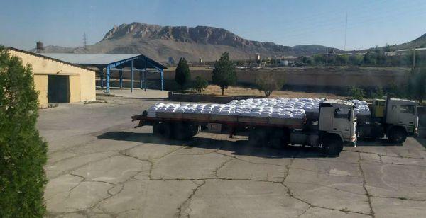 توزیع ۳۸۵ تن کود شیمیایی اوره در شهرستان خانمیرزا
