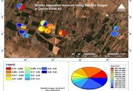 پایش 10 هزار هکتار از اراضی کشاورزی کشور با فناوری هوشمند استارتاپی/ افزایش 30 تا 60 درصد بهره وری تولید