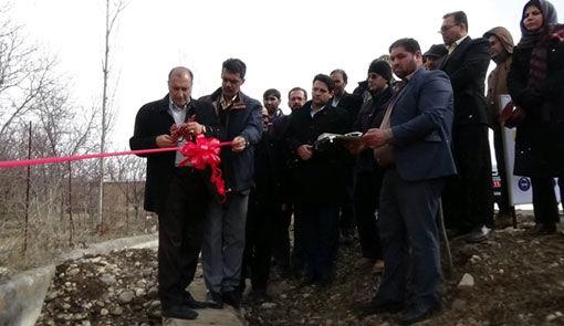 افتتاح فاز یک کانال اصلی آب رسانی پیش رباط عجب شیر