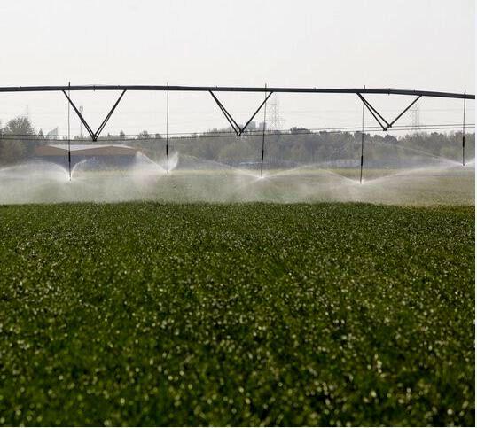 بیش از ۳ هزار هکتار اراضی مانه و سملقان زیر پوشش آبیاری بارانی قرار گرفت