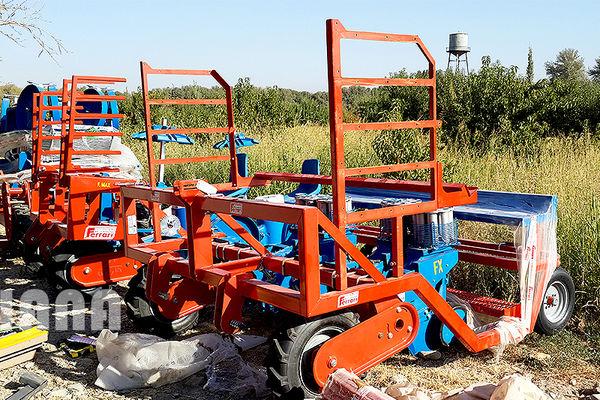 ناوگان ماشینآلات کشاورزی در بندر ماهشهر ارتقاء مییابند