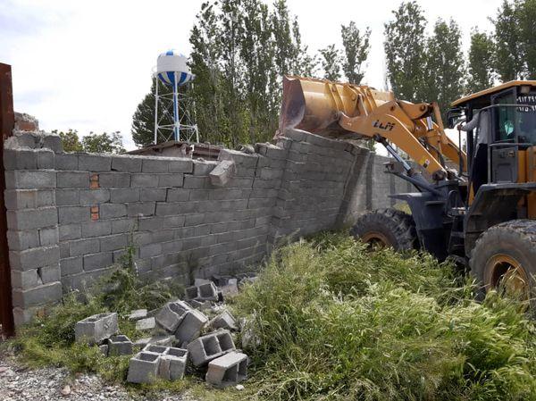 ۲۰موردساخت وساز غیرمجاز در اراضی کشاورزی ملارد تخریب شد
