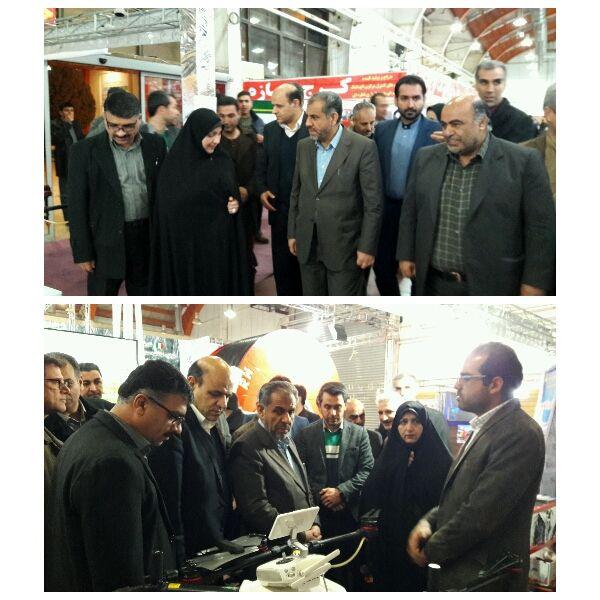 استاندار قزوین از دهمین نمایشگاه کشاورزی بازدید کرد