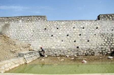 پیشرفت 85 درصدی پروژه آبخیزداری حوزه آبگرم شهرستان سرخه