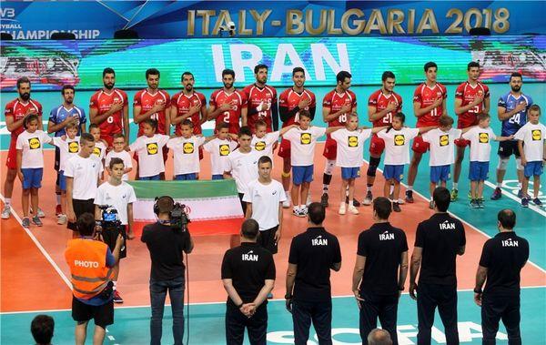 پایان کار والیبال ایران در قهرمانی جهان