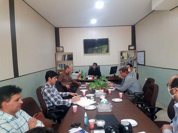 جلسه کمیته فنی آب و خاک در سازمان جهاد کشاورز ی استان قزوین برگزار شد