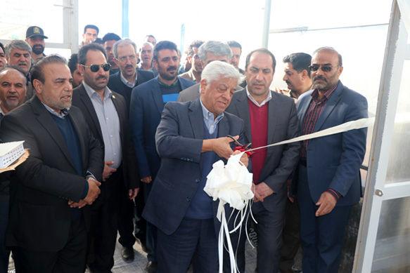 افتتاح مجتمع نیروگاهی گلخانه ای(CHP) شاهین شهر و میمه استان اصفهان