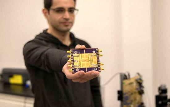 ساخت تراشه جدید برای چند برابر کردن سرعت دسترسی به اینترنت