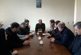 برگزاری جلسه بررسی مشکلات امور اراضی شهرستان میانه