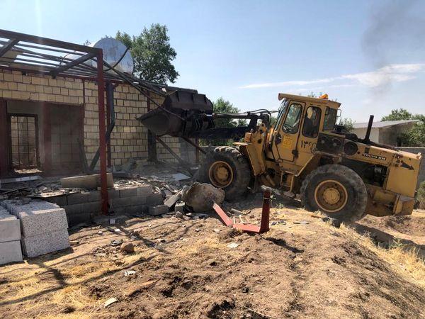 تخریب ۶۹۷ مورد تغییر کاربری غیر مجاز در اراضی کشاورزی استان قزوین