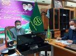 جلسه ویدئو کنفرانسی رویداد تولید، پشتیبانی ها، مانع زدایی ها در صنعت نوغان خراسان شمالی برگزار شد