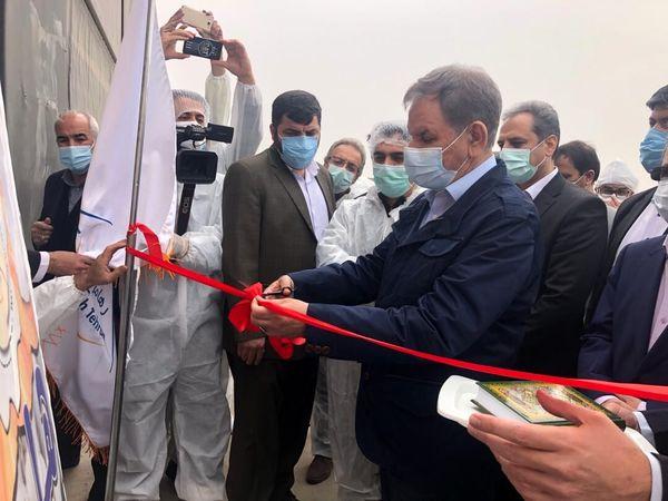 پروژه زنجیره پرورش مرغ تخم گذار شرکت رها مرغ تهران افتتاح شد