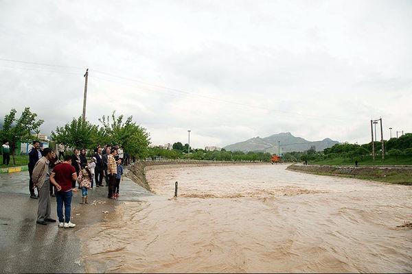 احتمال جاری شدن سیلاب وجود دارد