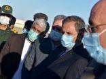 وزیر جهاد کشاورزی وارد فرودگاه کنارک شد