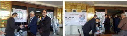 برگزاری رزمایش ملی پدافند بیولوژیک مقابله با ویروس کرونا در سازمان جهاد کشاورزی استان مرکزی