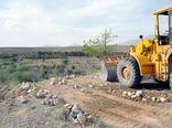 12 هزار مترمربع از اراضی ملی شهرستان دماوند رفع تصرف شد