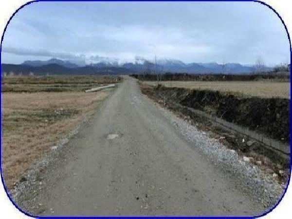 شن ریزی 248 کیلومتر جاده بین مزارع آمل