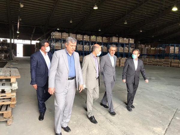بازدید فرماندار بهارستان از طرح های بخش کشاورزی شهرستان