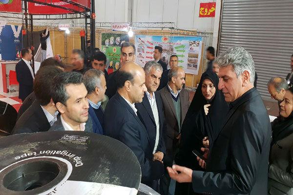 دهمین نمایشگاه تخصصی کشاورزی در قزوین گشایش یافت