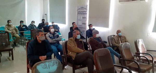 کلزاکاران شهرستان البرز با روشهای نوین مدیریت تغذیه در مزارع کلزا آشنا شدند 