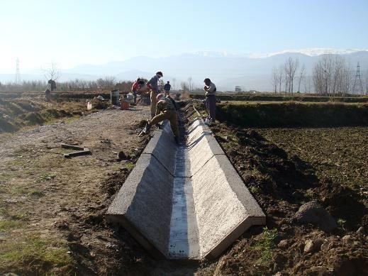 افتتاح دو طرح آبیاری نوین کم فشار،کانال انتقال آب چاری باغین و یک کارخانه تولید خوراک دام