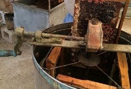 عسل کنار زنبورداران قیروکارزین رسید